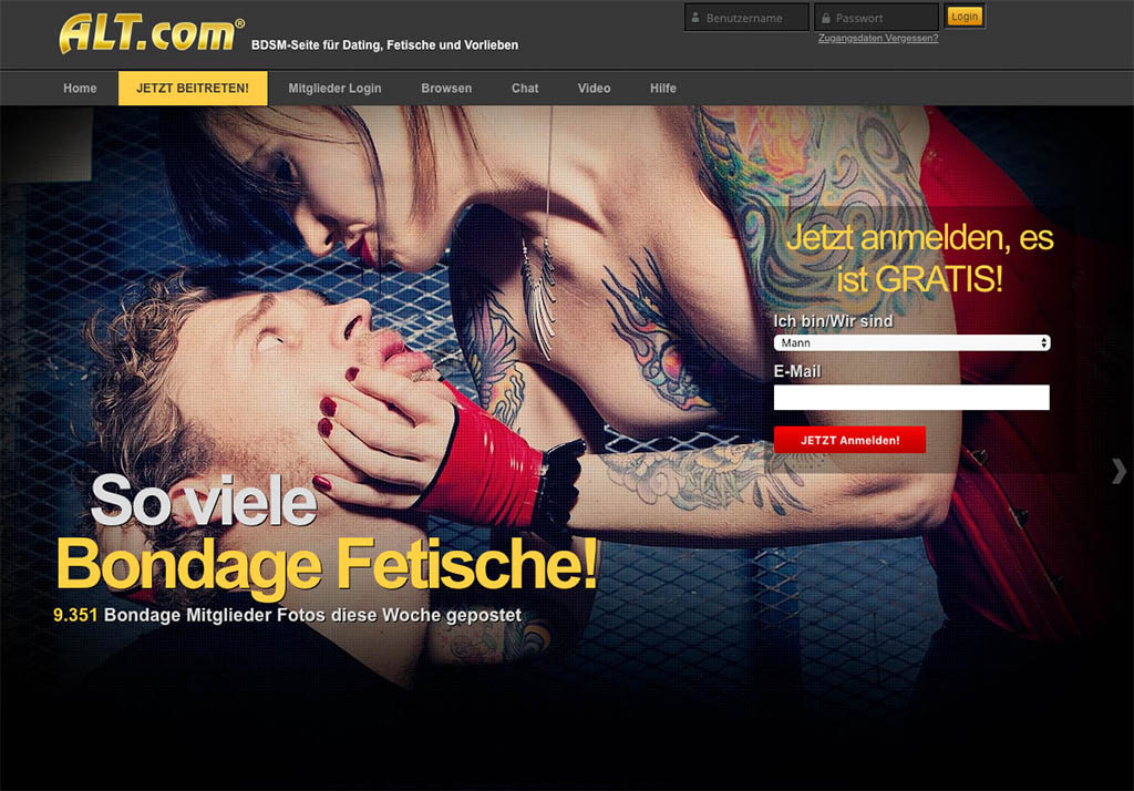 Alt.com - BDSM Dating vom feinsten